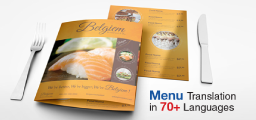 Food Menu Translation