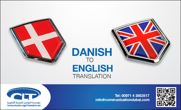 Danish into English