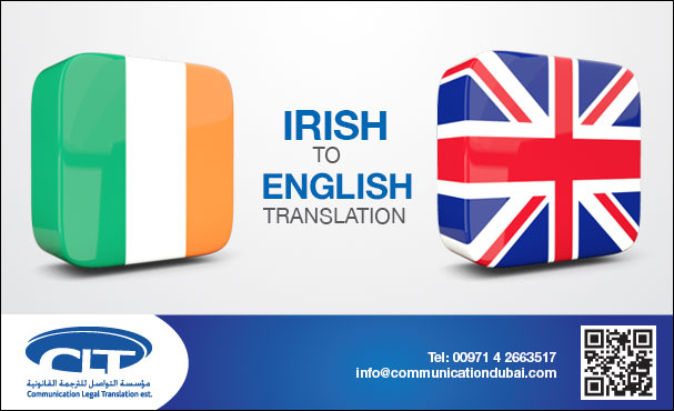 Irish into English