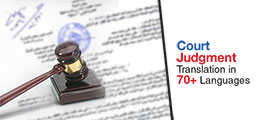 Court Pleadings translation