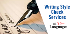 Writing Style Check Services in Algeria