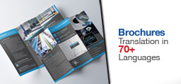 Brochures Translation