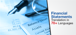Financial Statements Translation